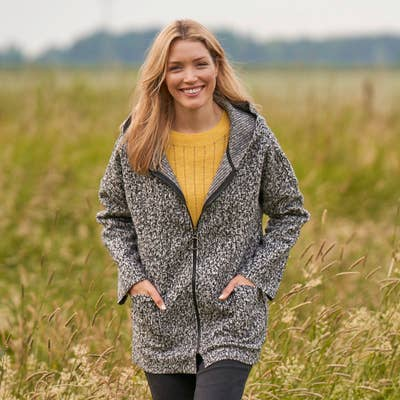 Damen-Jacke in Wolloptik