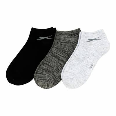 Slazenger Damen-Sneaker-Socken, 3er-Pack