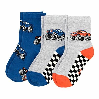 Jungen-Socken, 3er-Pack
