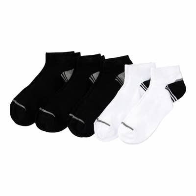 Herren-Sportsneaker-Socken, 5er-Pack
