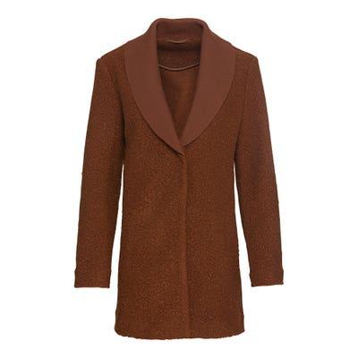Damen-Jacke aus Plüsch