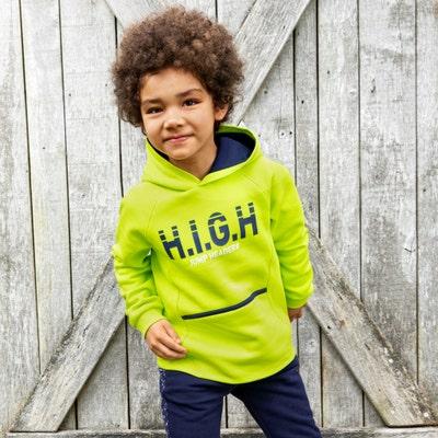 Kinder-Jungen-Sweathoody mit Baumwolle