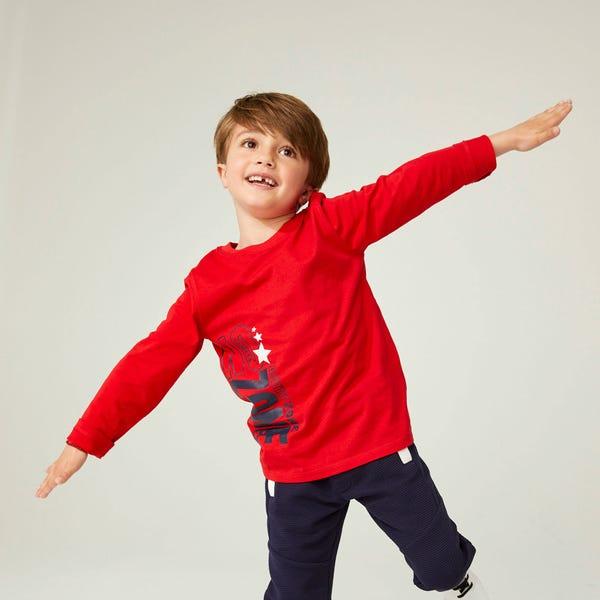 Jungen-Shirt mit coolem Aufdruck
