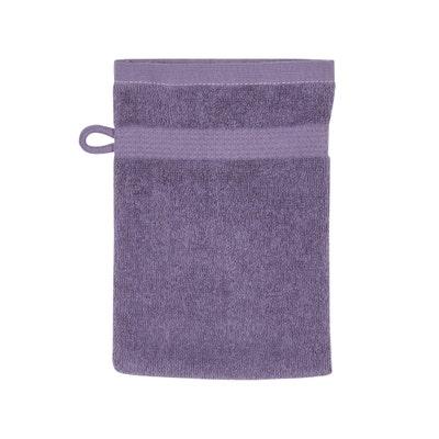 Waschhandschuh mit Bordüre, ca. 16x21cm, 2er-Pack