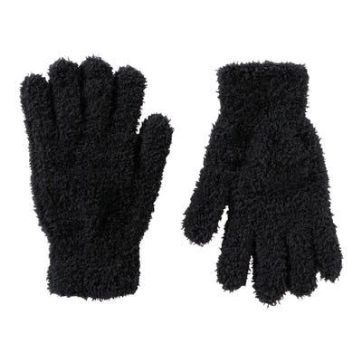 Damen-Handschuhe aus Kuschel-Plüsch