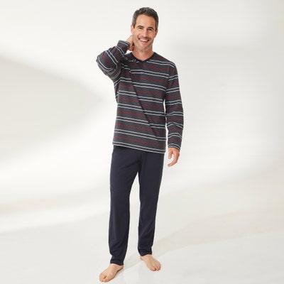 Herren-Pyjama, 2-teilig