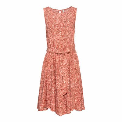 Damen-Kleid mit Sommer-Muster