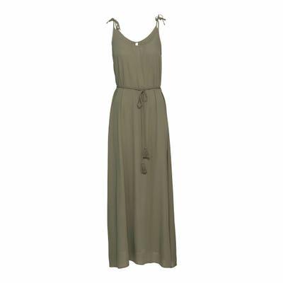 Damen-Kleid mit Bindegürtel