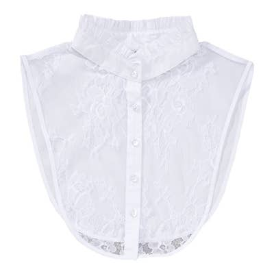Damen-Blusenkragen im Trachten-Look