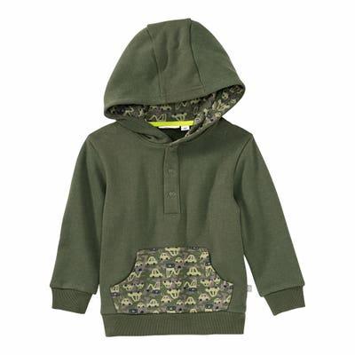 Baby-Jungen-Sweatshirt mit Kapuze