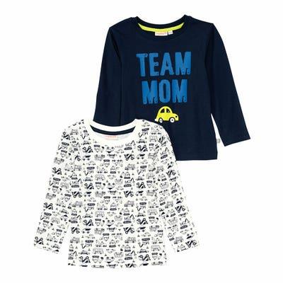 Baby-Jungen-Shirt, 2er-Pack