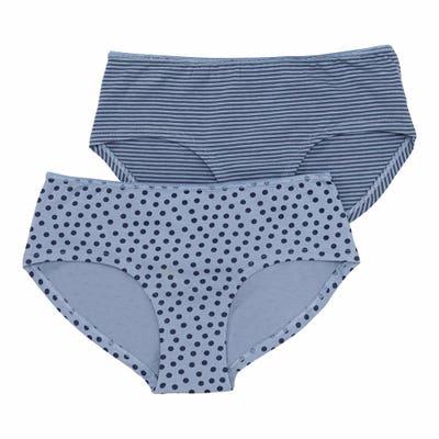 Damen-Panty mit Ringelmuster, 2er-Pack