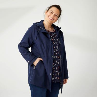 Damen-Jacke wasserabweisend, große Größen
