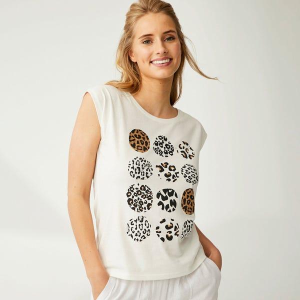 Damen-T-Shirt in verschiedenen Designs