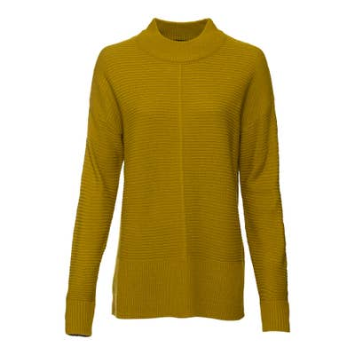 Damen-Pullover mit Stehkragen