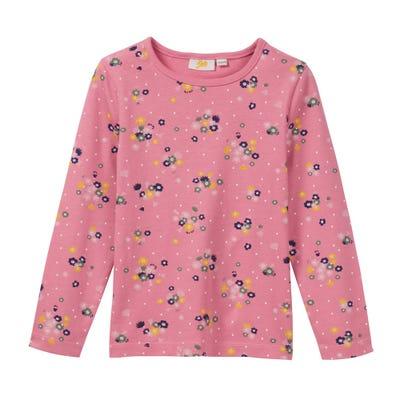 Mädchen-Shirt mit bezaubertem Blumen-Motiv