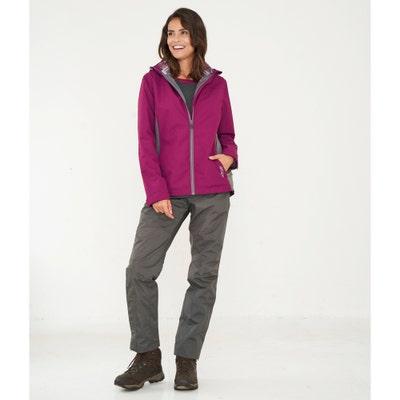 Damen-Trekkinghose mit seitlichem Reißverschluss