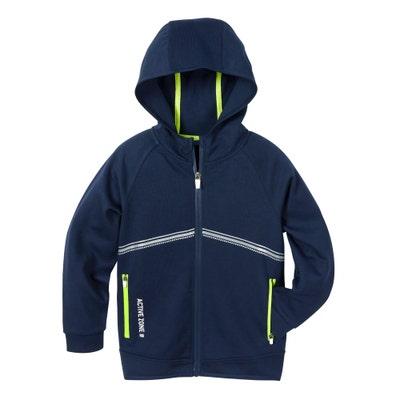 Kinder-Jungen-Jacke mit Reflektionsstreifen