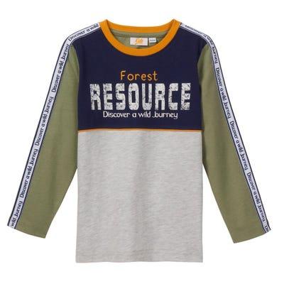 Jungen-Shirt mit coolem Druck