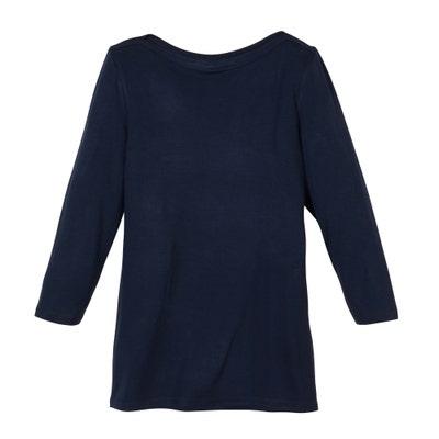 Damen-Shirt mit U-Boot-Ausschnitt