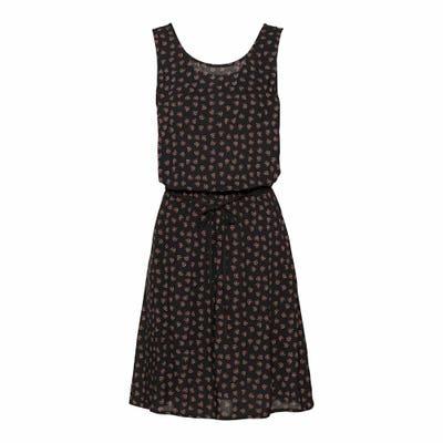 Damen-Kleid mit Gürtelband