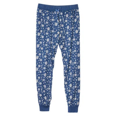Damen-Homewear-Fleecehose mit Sternen