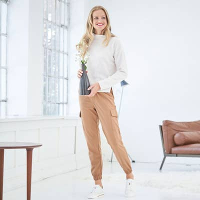 Damen-Joggpants im Cargo-Style