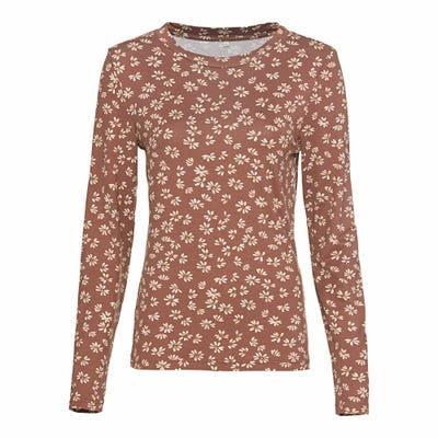 Damen-Shirt mit modischem Druck