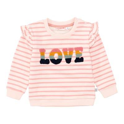 Baby-Mädchen-Sweatshirt mit Rüschen