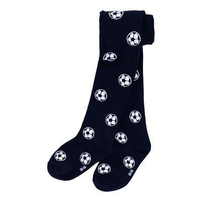 Kinder-Jungen-Strumpfhose mit Fußball-Motiv