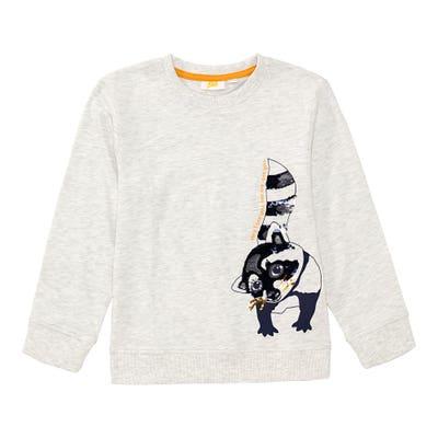Jungen-Shirt mit Waschbär-Aufdruck