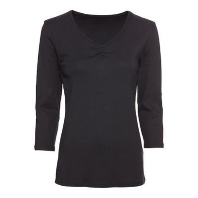 Damen-Shirt mit Raffung