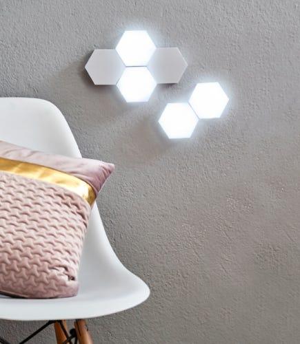 Hexagon-<br>Touch-Lichter